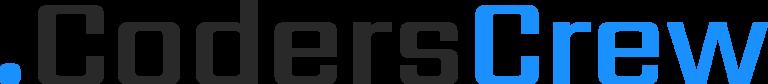 Logotyp CodersCrew (czarny)